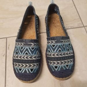 Women's  8 The Sak ESPADRILLES cork bottom shoes